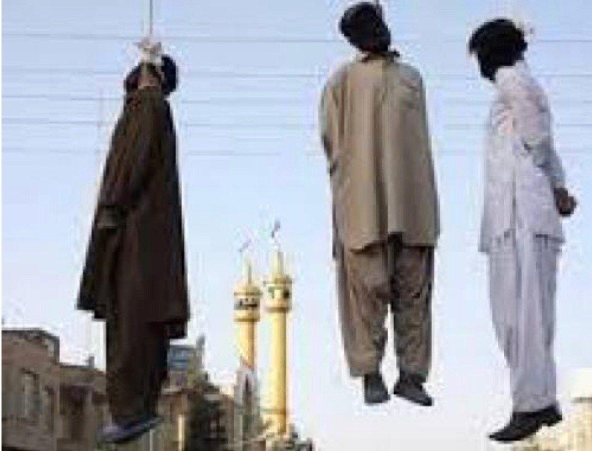 اعدام معترضان محکوم است