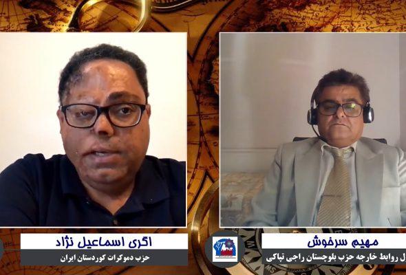 ششمین برنامه تپاکی گفتگو با آگری اسماعیل نژاد