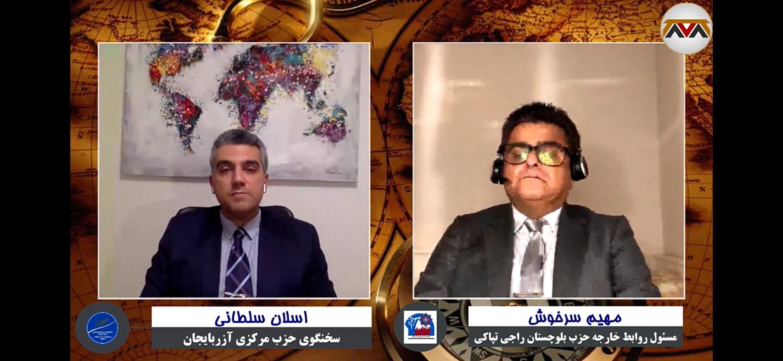 چهارمین برنامه تپاکی گفتگو با اسلان سلطانی