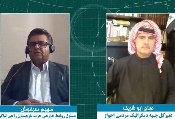 اولین برنامه تپاکی گفتگو با صلاح ابوشریف